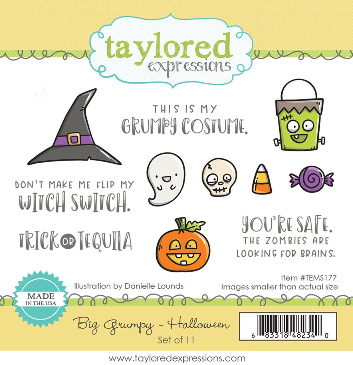 **PRE-ORDER* - Taylored Expression - BIG GRUMPY - HALLOWEEN