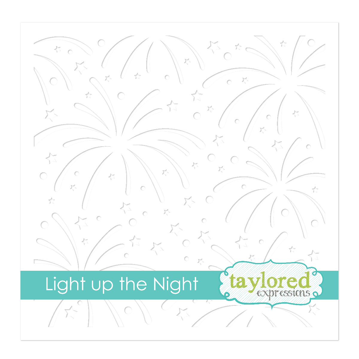 Taylored Expression - Light Up the Night Stencil