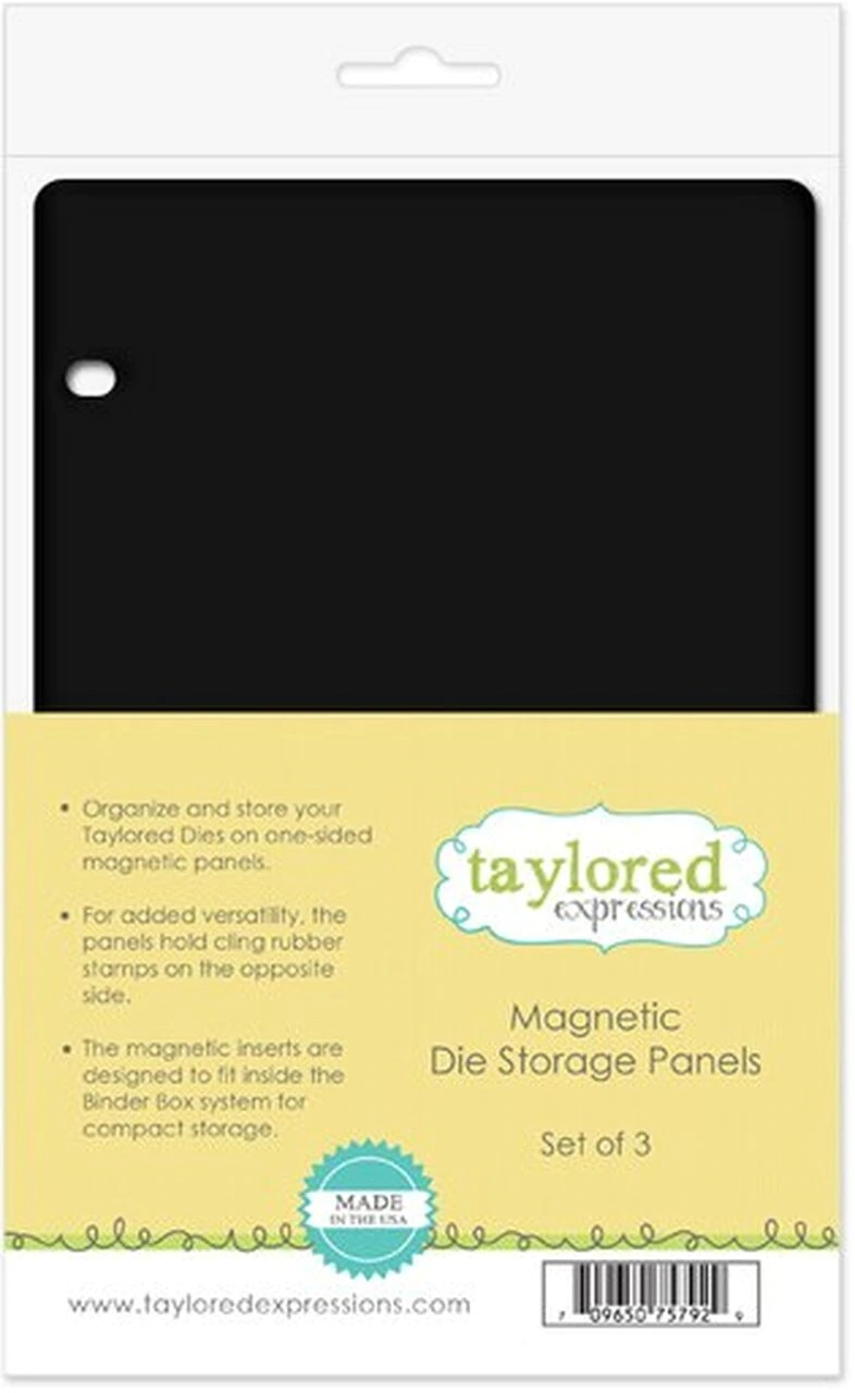 Taylored Expression - Magnetic Die Storage Panels
