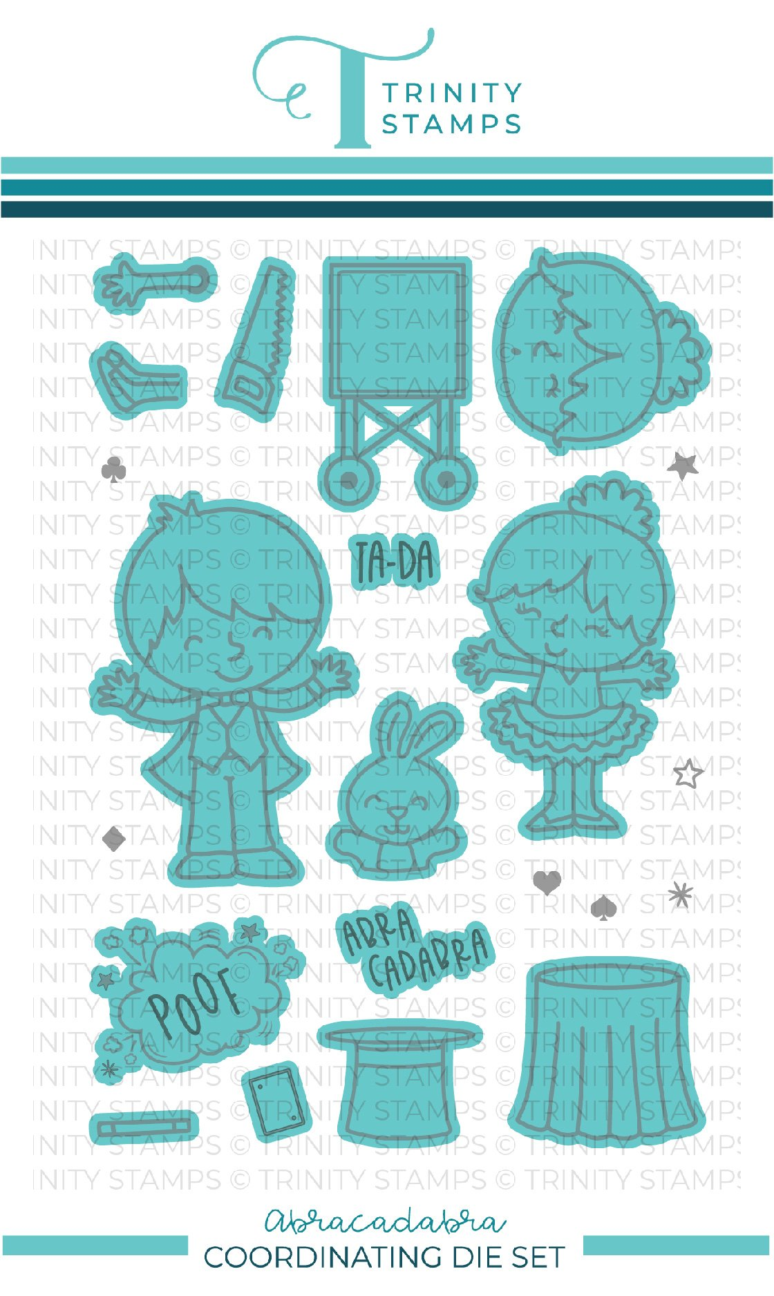 *NEW* - Trinity Stamps - Abracadabra coordinating die set