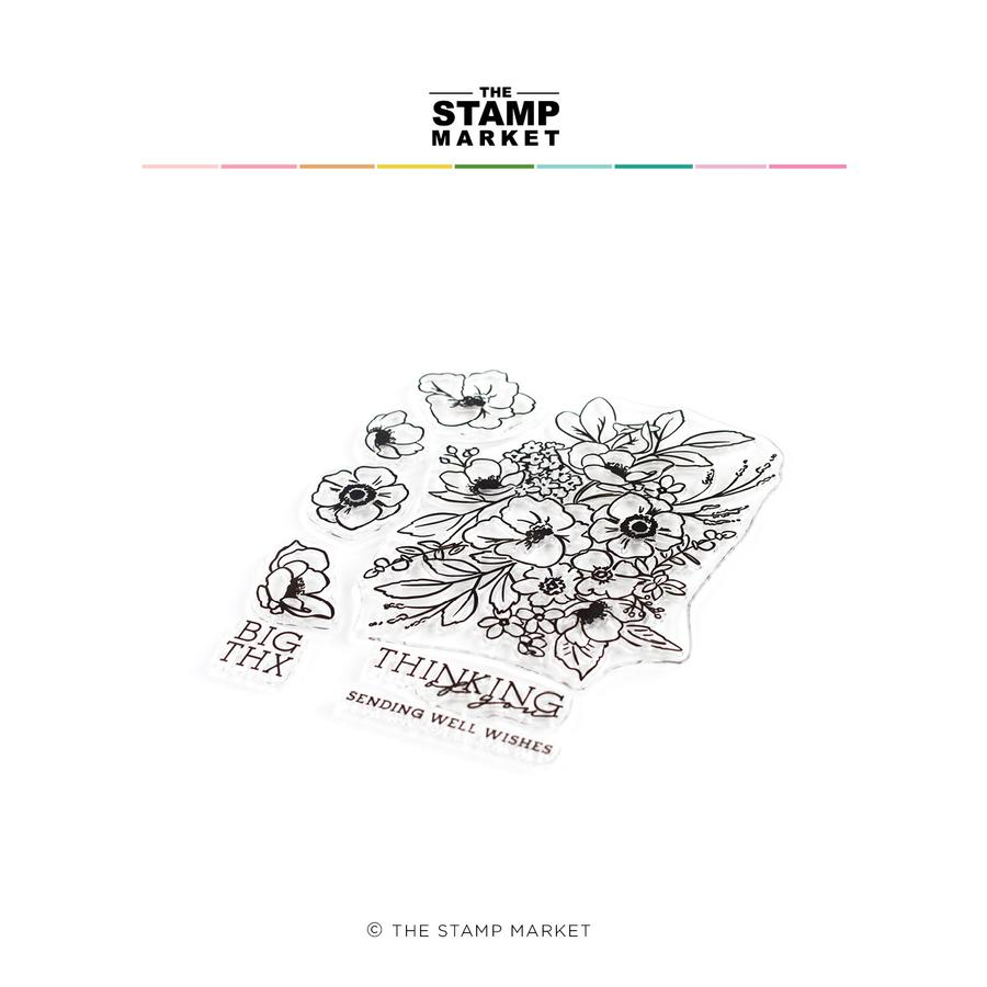 The Stamp Market - Bloomin' Beautiful Stamp