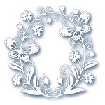 Tutti Designs- Butterfly Oval