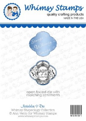###Whimsy Stamps - Notables 9 Die - Shapeology Dies