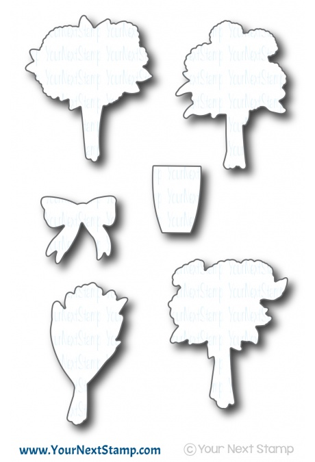 *NEW* - Your Next Stamp - Bunches of Happiness Die Set