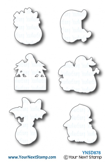 *NEW* - Your Next Stamp - Spooky Fun Die Set