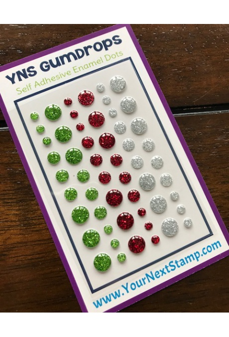 Your Next Stamp - Gumdrops - Merry and Bright Glittered