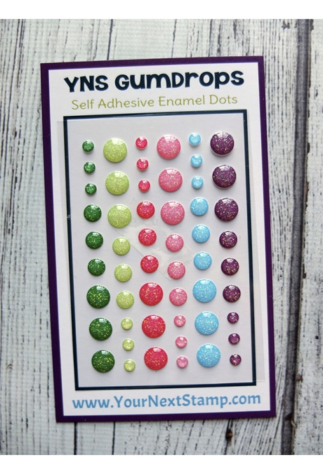 Your Next Stamp - Watermelon Party Sparkly Gumdrops