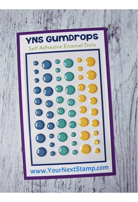 Your Next Stamp - Seas the Day Sparkly Gumdrops