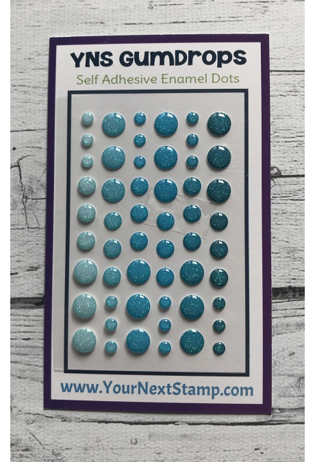 *NEW* - Your Next Stamp - Blueberry Blitz Sparkly Gumdrops