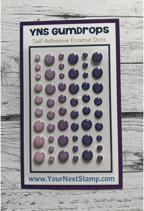 Your Next Stamp - Grape Crush Sparkly Gumdrops