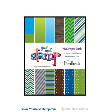 Your Next Stamp- Woodlands Paper Pack