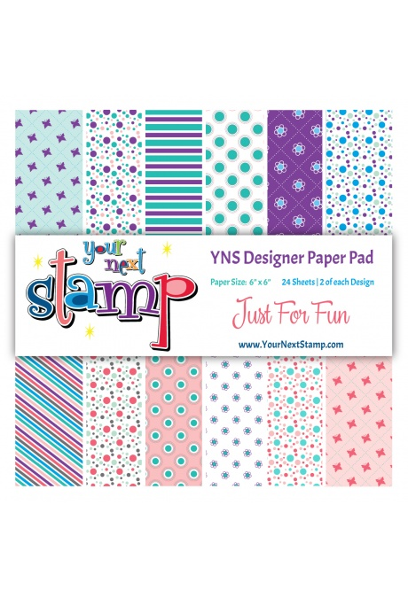Your Next Stamp - Just For Fun Paper Pad