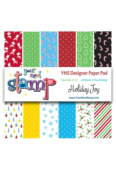 Your Next Stamp - Holiday Joy 6x6 Paper Pad
