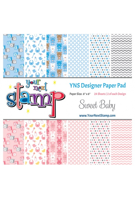 Your Next Stamp - Sweet Baby Paper Pad