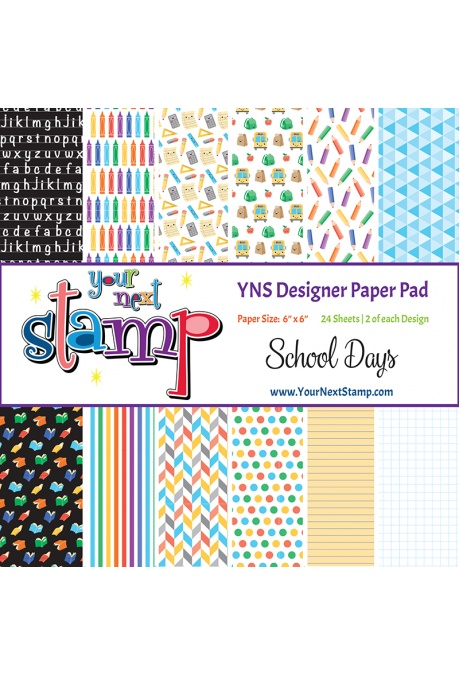 Your Next Stamp - School Days 6x6 Paper Pad