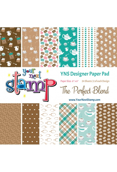 Your Next Stamp - The Perfect Blend 6x6 Paper Pad