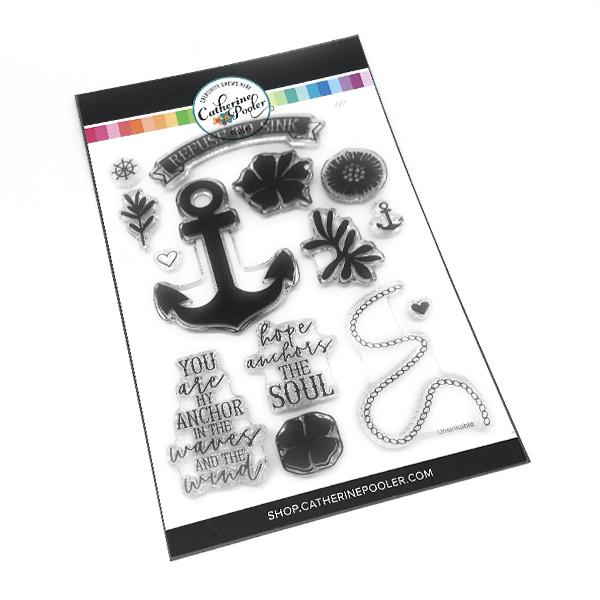 *NEW* - Catherine Pooler - Refuse to Sink Stamp Set