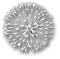Memory Box - Prized Chrysanthemum Outline