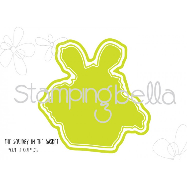Stamping Bella - The Squidgy in a basket CUT IT OUT DIE