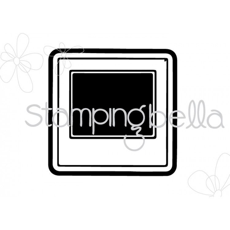 *PRE-ORDER* - Stamping Bella - uptown girl SNAPSHOTS MINIS CUT IT OUT DIE