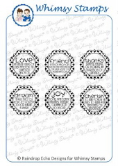 *WS* Whimsy Stamps - Definitions Notables 7 - Sentiments Collection