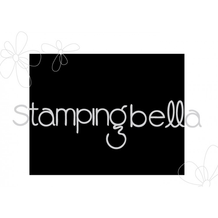Stamping Bella - Cardstock Matcher BACKGROUND STAMP