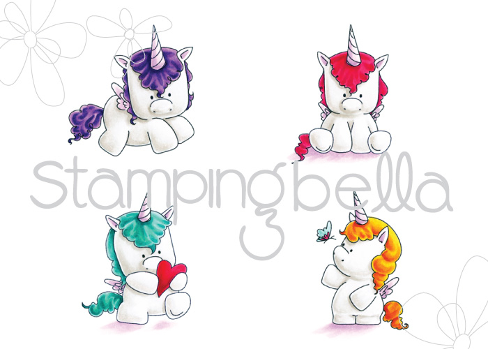 Stamping Bella - Set of Unicorns