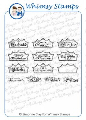 *WS* Whimsy Stamps - Fairy Tale Dreams - SC Design Collection