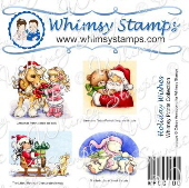 *CL* Whimsy Stamps - Holiday Wishes Prints - Whimsy Prints