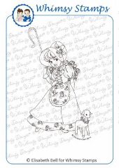 ###Whimsy Stamps - Little Miss Mary - Elisabeth Bell