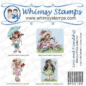 *CL* Whimsy Stamps - Love and Friendship Prints - Whimsy Prints