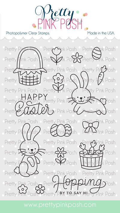 *NEW* - Pretty Pink Posh - Easter Bunnies stamp set