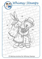 ###Whimsy Stamps - Hunny Bunny - Meljen's Designs