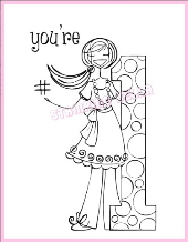 Stamping Bella - You're my number one-abella