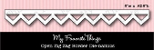 #### D Favorite Things -  Open Zig Zag Border Die-namics