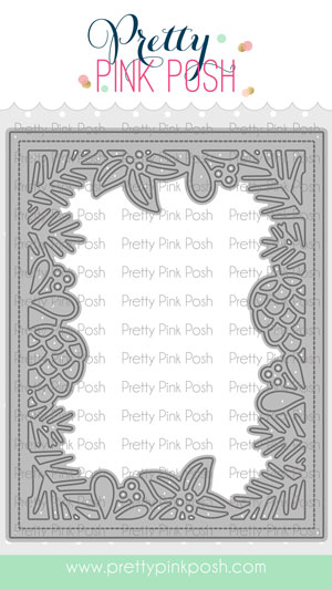 *NEW* - Pretty Pink Posh - Winter Frame Die