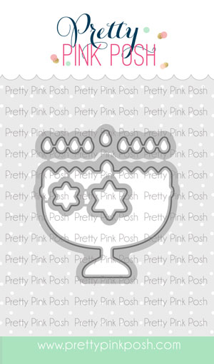 Pretty Pink Posh - Happy Hanukkah Coordinating Die Set