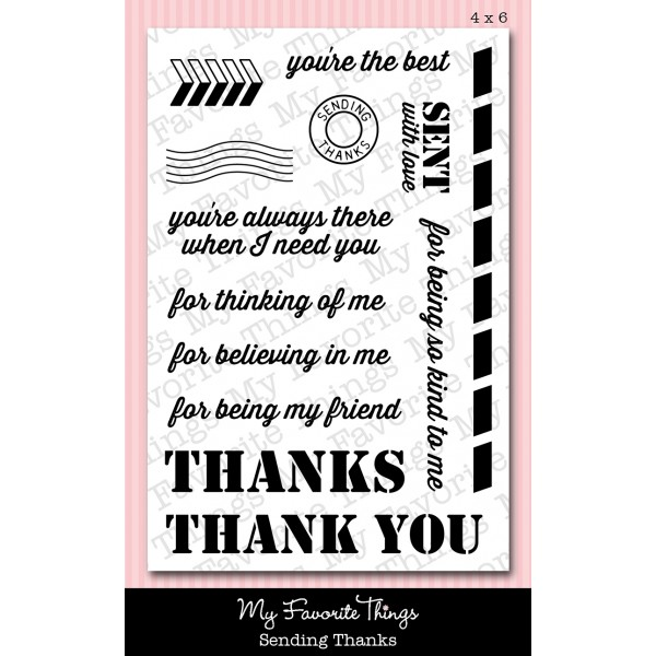 My Favorite Things - Sending Thanks Stamp Set