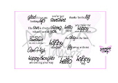 SP AmyR Stamps Sunny Sentiments Rubber Stamps