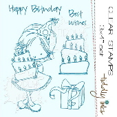 Tiddly Inks - Birthday Wishes